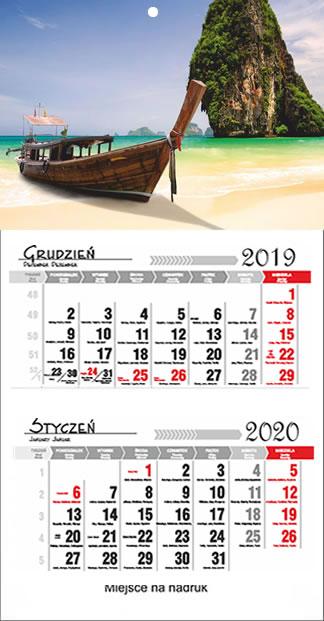 Kalendarze dwudzielne 2018 Tarnobrzeg